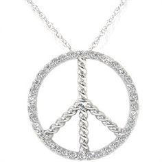 """This womens pendant features 35 round brilliant cut natural diamonds. All diamonds are set in solid 14k white gold. An 18"""" 14k white gold clasp lock chain is included. .40ct total diamond weight.   $349"""