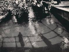 Ilse Bing - Self Portrait, Canal Saint Martin, Paris 1933