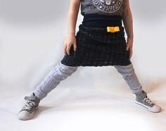 Toddler wool skirt YELLOW girls clothes children von PicknickerBlue