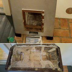Asennuksen jälkeen vuorossa oli viimeisten silausten tekeminen. Matin lakivalu asennettiin paikoilleen ja tiivistettiin korkeaa lämpöä kestävällä biokuitupunoksella. Sen jälkeen vuorossa oli ruostuneiden metalliosien puhdistus ja maalaus. Putsaukseen käytettiin messinkiharjaa ja porakoneeseen kiinnitettävää pyöröharjaa. #voitonpuolella #porinmatti #rakennusrestaurointi #restaurointi #entisöinti #tulisija #tulisijanpalautus