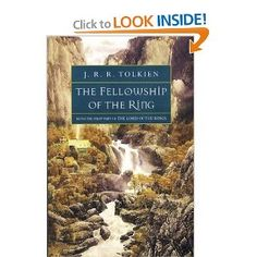 The Fellowship of the Ring (The Lord of the Rings, Part 1), I just finished this and book group is tonight. It was hard for me to get interested in reading this. But I liked it.