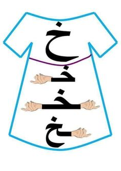 Arabic Alphabet Letters, Arabic Alphabet For Kids, Learn Arabic Online, Arabic Lessons, Arabic Handwriting, Arabic Language, Kids Learning Activities, Learning Arabic, Math For Kids