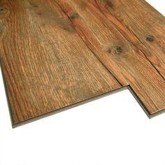 Monarch 7-in W x 48-in L Handscraped Antique Oak Floating (Interlocking) Luxury Vinyl Plank