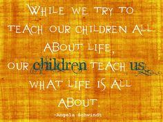children are the best teachers