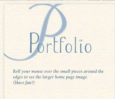 Mintz Web Design, Portfolio Page. Inspiration. Can't wait to build my own portfolio