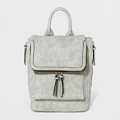 6dc325555868 VR By Violet Ray Kendall Backpack - Light Gray - image 1 of 4