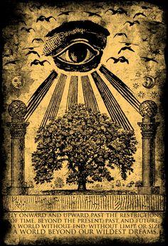 """…all Masonic associations owe to it [Kabbalah] their secrets and their symbols.""—Eliphas Levi, Transcendental Magic"