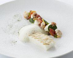 Gegrilde griet met zuiderse groenten en basilicum