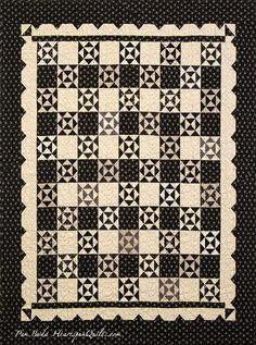 Nan's Fancy pattern by Pam Buda of Heartspun Quilts.  Made with Pam's American Gothic collection for Marcus Brothers Fabrics.