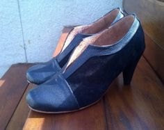 High heel leather handmade shoes / women shoes in by LaMoraZapatos