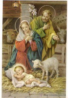 El Portal de Belén, la Natividad. Sagrada Familia. Nacimiento del Hijo de Dios.