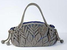 Doily Crochet Handbag: pattern