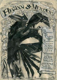 (Odin's ravens) From ~ Premieres Plumes, Paris 2011.