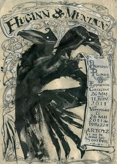 (Odin's ravens) From ~ Premieres Plumes, Paris 2011.