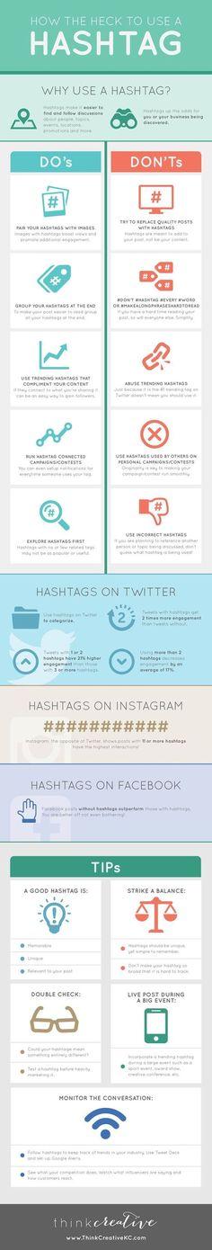 Hashtags : les 6 pièges à éviter