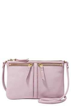 Fossil 'Erin - Small' Crossbody Bag available at #Nordstrom \\ love lavender!