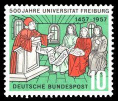University of Freiburg - Wikipedia, the free encyclopedia German Stamps, Centenario, Higher Education, Poster, Free, Ephemera, Ebay, Germany, Freiburg