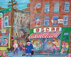 Miyuki Tanobe Jean Paul Lemieux, Illusion 3d, Urban Life, Quebec, Les Oeuvres, Projects To Try, Images, Paintings, Photos