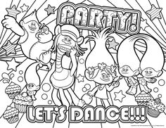 Trolls Coloring Pages Free Pdf Through The Thousands Of Photos On