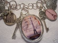 How to Create Altered Art Charms~ with FREE images...