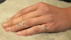 Handmade Sterling Silver 925 Adjustable Spiral by CristalPassions