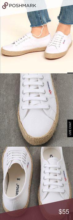 e429dbe11747 Superga white espadrilles sneakers SUPERGA 2750 COTROPEU white espadrille  sneakers. New with tags   without