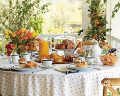 Breakfast Table Setting, Breakfast In Bed, Breakfast Buffet Table, Breakfast Items, Perfect Breakfast, Williams Sonoma, Brunch Recipes, Gourmet Recipes, Brunch Mesa