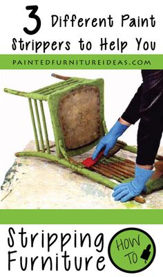 A DIYers dream site-Educating, helping, and Saving money on your makeovers… Stripping Furniture, Painting Laminate Furniture, Distressed Furniture Painting, Stripping Paint, White Painted Furniture, Furniture Fix, Furniture Projects, Furniture Makeover, Diy Projects