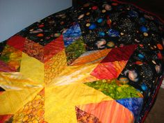Custom Space Quilt. $245.00, via Etsy.