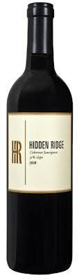 HIDDEN RIDGE 55% SLOPE CABERNET SAUVIGNON . It's perfectly ripe, offering an array of blackberries, cherries and currants wrapped into beautifully mature tannins and grounded with a firm minerality. Defines the elegant concentration of a high Mayacamas Mountain Cabernet. Drink now and over the next 10 years, at least.$39.99 per bottle Delivermywine.com 888-959-7721