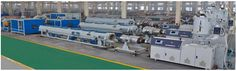 Our company using the development HDPE,PP pipes extrusion technology develops this #Common Diameter HDPE Pipe , PP Chemical Usage Pipe and MPP Electrical Wire Protection Pipe Extrusion Line  of extrusion line. This line features compact structure, highly automation and stable performance. This line is widely used in producing HDPE water, gas supply pipe, double-anti pipe for mine industries.