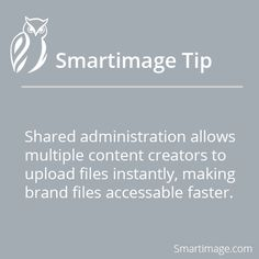 Invite shared admins to help manage your account #Smartimage #collaboration