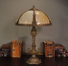 Slag floor lamps google search 20s era decor ideas pinterest slag glass styled lamp shade with aladdin base from the h a best lamp company in chicago aloadofball Images