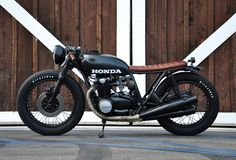 Honda CB550 Motorcycle Honda CB550 by Seaweed & Gravel