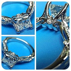 A blueprint for brilliance. {Insignia-7050} #loverings ~ Engagement rings from @Verragio