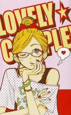 lovely complex- i love this anime! I Love Anime, Awesome Anime, Koizumi Risa, Lovely Complex Anime, Manga Anime, Anime Art, Fanart, Big Eyes, Shoujo