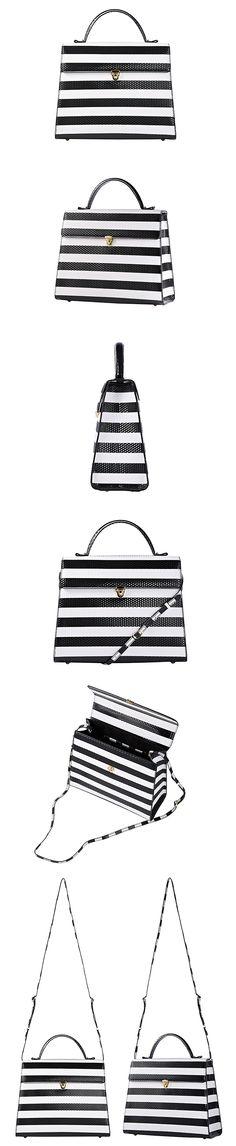 1st Rumor  Tote Bag 01 / BW stripe