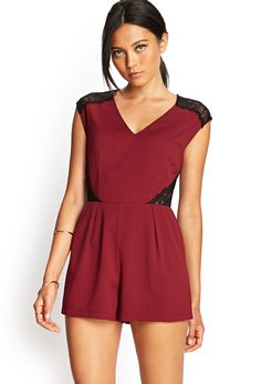 Ornate Lace Jumpsuit | FOREVER21 #SummerForever