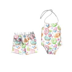 BONLOR Palm Tree Colour Pineapple Baby Rompers One Piece Jumpsuits Summer Outfits Clothes Pink