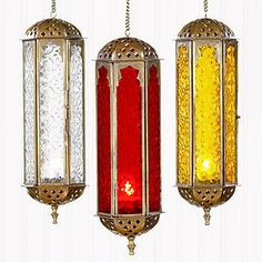ShopStyle: Cathedral Hanging Lantern Candleholders