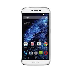 Unlocked BLU - Studio ONE 4G LTE with 16GB Memory Cell Phone - Pure white