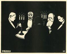 ART & ARTISTS: Félix Vallotton - part 5 - woodcuts (2)