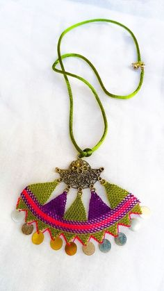 Crochet Necklace Traditional Turkish Lace Oya by ForGoodPeople