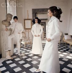 When I first found the image of Cy Twombly's bedroom in Rome, I was hoping that I could find photos of the rest of his home. Some continued sleuthing has unearthed them and they were definitely worth the search. They were taken by Horst P. Horst in 1966 and most appeared in Vogue's Book of […]