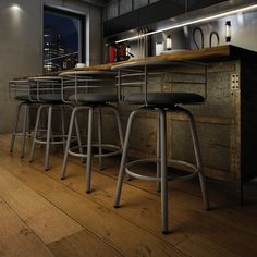Space-age flair and functional design combine in this Amisco Turbo 26-inch metal counter stool. This bar-height stool has a comfortably padded seat covered in matte polyurethane upholstery, which is e