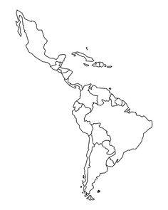 Mapa de america grande para calcar - Imagui Finger Tattoo Designs, Finger Tattoos, North America Map, Central America, Greek And Roman Mythology, Spanish 1, Tattoo Inspiration, Social Studies, Tattoo