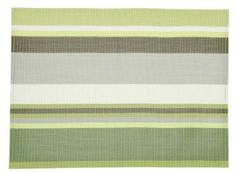 Amazon.com: Now Designs Palmyra Placemats, Green, Set of 4: Home & Kitchen