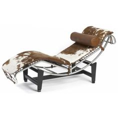 Le Corbusier lc4 chaise pony brown..YES...YES...