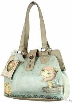 Adrift Handbag Eclectic Santoro Bag Gorjuss: Amazon.co.uk: Clothing