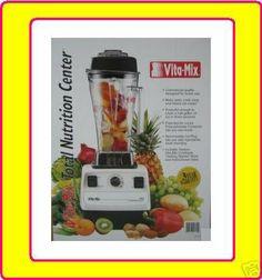 Vita-mix 5000 Super Powerful VitaMix Kit Commercial Variable Speed Motor Blender Total Nutrition Center Grinder Bread Maker Peanut Butter Ev...